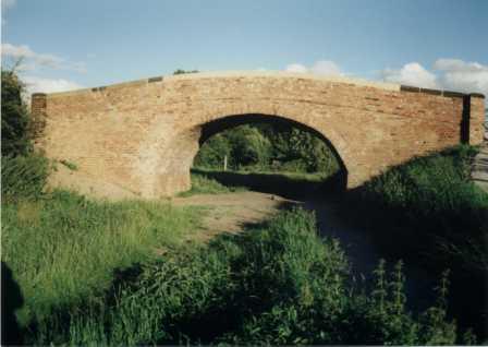 Ullicker's Bridge, Borrowash after rebuilding 1998