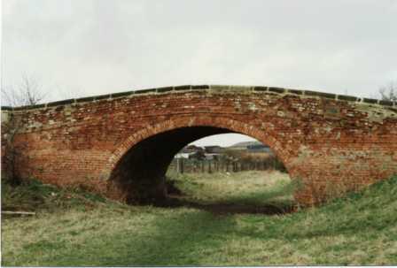 Ullicker's bridge 1990 before restoration