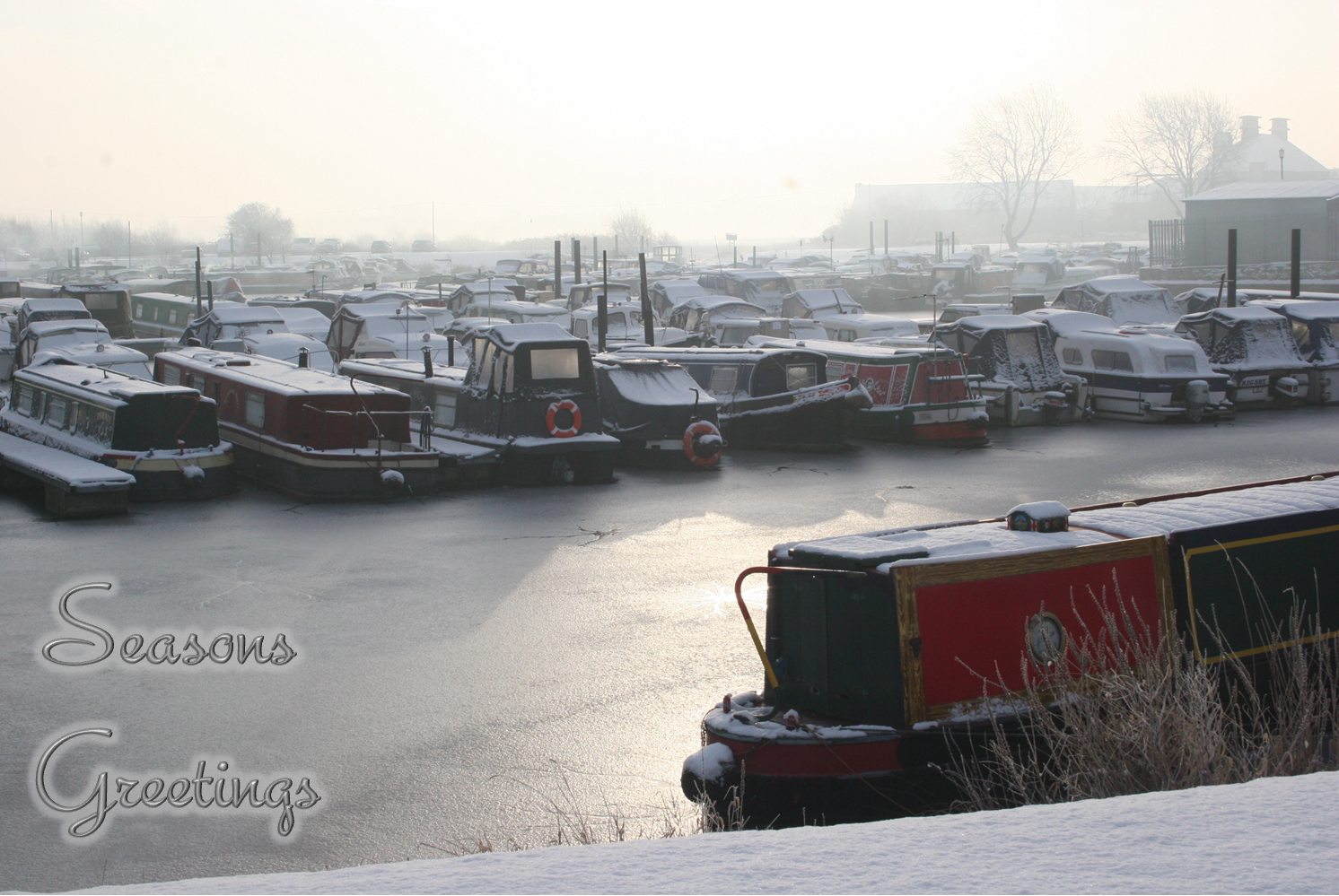 Charity Christmas Cards Available! – Derby and Sandiacre Canal